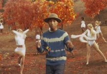 Clip video Gust of Wind Pharell Williams adidas jeans