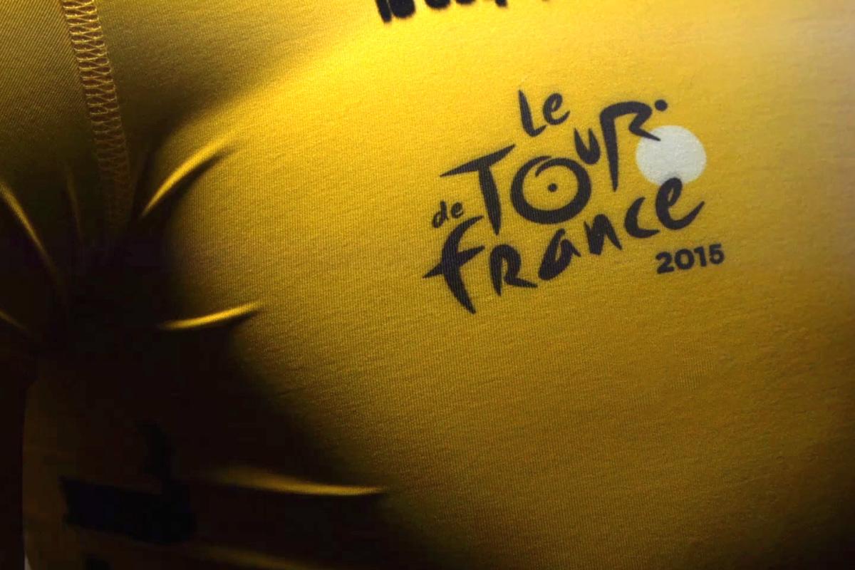 Maillot Jaune du Tour de France 2015 par Le Coq Sportif