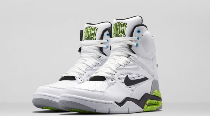 Nike Air Command Force 2014 (White Black/Wolf Grey Volt)