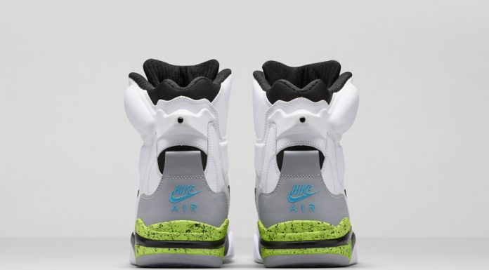 Nike Air Command Force Retro 2014 (White Black/Wolf Grey Volt)