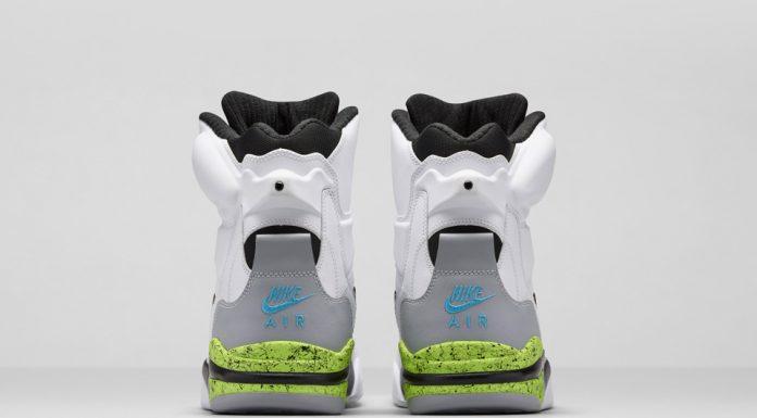 Nike Air Command Force Retro 2014 (White Black/Wolf Grey Volt)