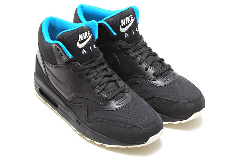 Nike Air Max 1 Mid CR7 Black/Black Neo Turquoise