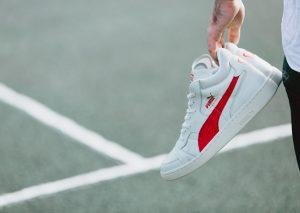 PUMA Boris Becker OG 201 (Blanc/Rouge)