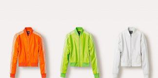 Vestes en cuir Superstar Track Jacket Adidas = Pharrell Williams