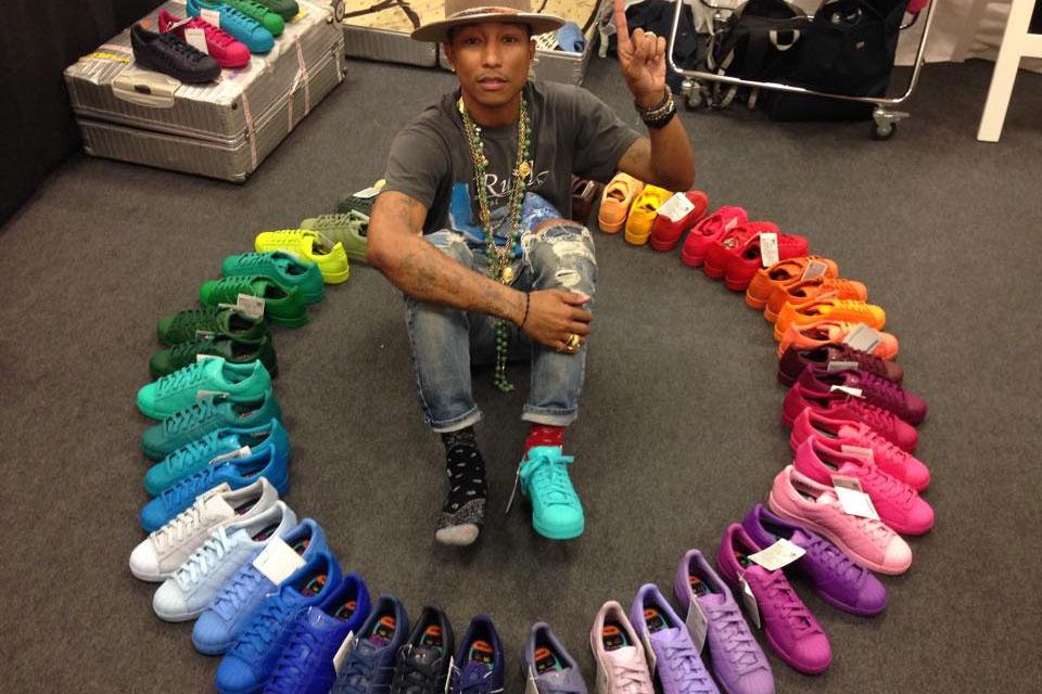 adidas = Pharrell Williams Superstar 2015 Rainbow | Teaser
