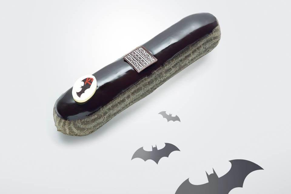 Éclair au chocolat Batman par Fauchon