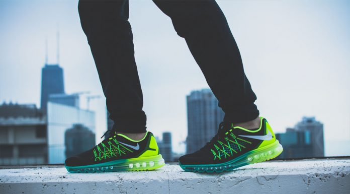 Nike Air Max 2015 (Black/Volt/Hyper Jade/White) 'Dare To Air'-5