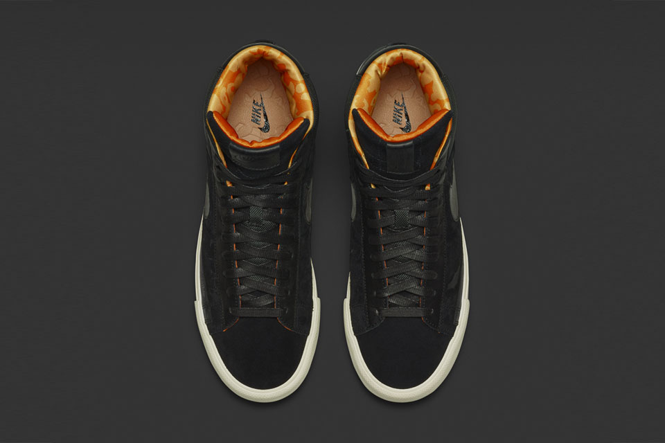 Nike Blazer Mid (Black) x Mo'Wax by James Lavelle-2