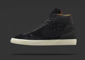 Nike Blazer Mid (Black) x Mo'Wax by James Lavelle