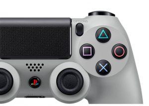 Manette PS4 Grise - Anniversaire 20 ans de la PlayStation
