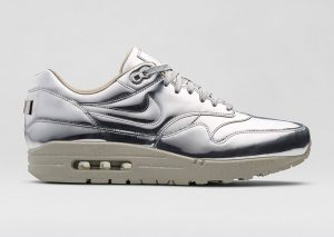 Nike Air Max 1 Argent 'Liquid Metal' Pack