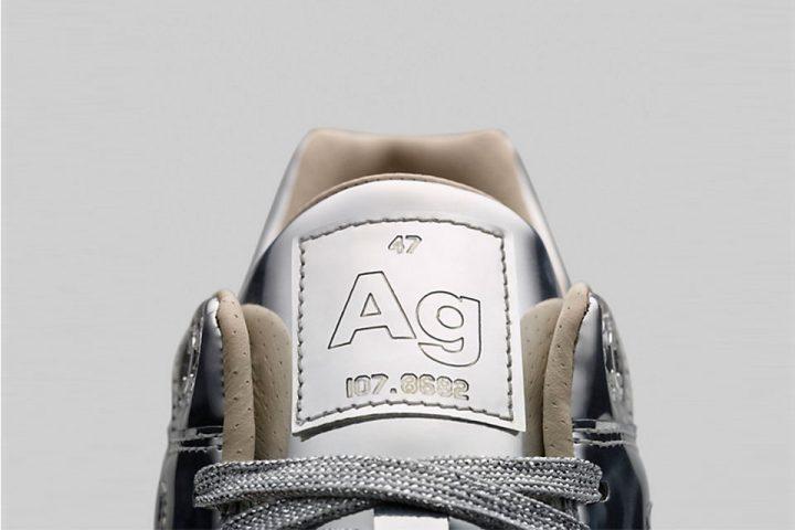 Nike Air Max 1 Gris Métallisé 'Liquid Metal' Pack