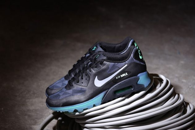 Nike Air Max 90 Ice QS Black Cool Grey 2014