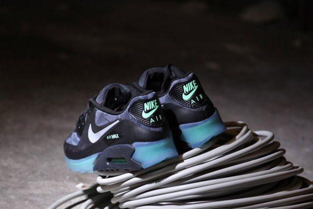 Nike Air Max 90 Ice QS (Cool Grey:Black) 2014