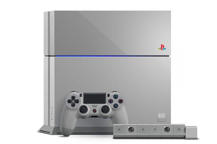 PS4 Gris - Anniversaire 20 ans de la PlayStation
