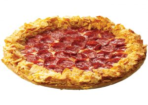 Pizza Hut Doritos Crunchy