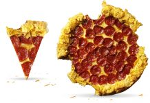 Pizza Hut Doritos Crunchy Crust - Fromage/Chips (Australie)