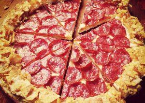 Pizza Hut Doritos Crunchy Crust - Fromage/Chips - Instagram