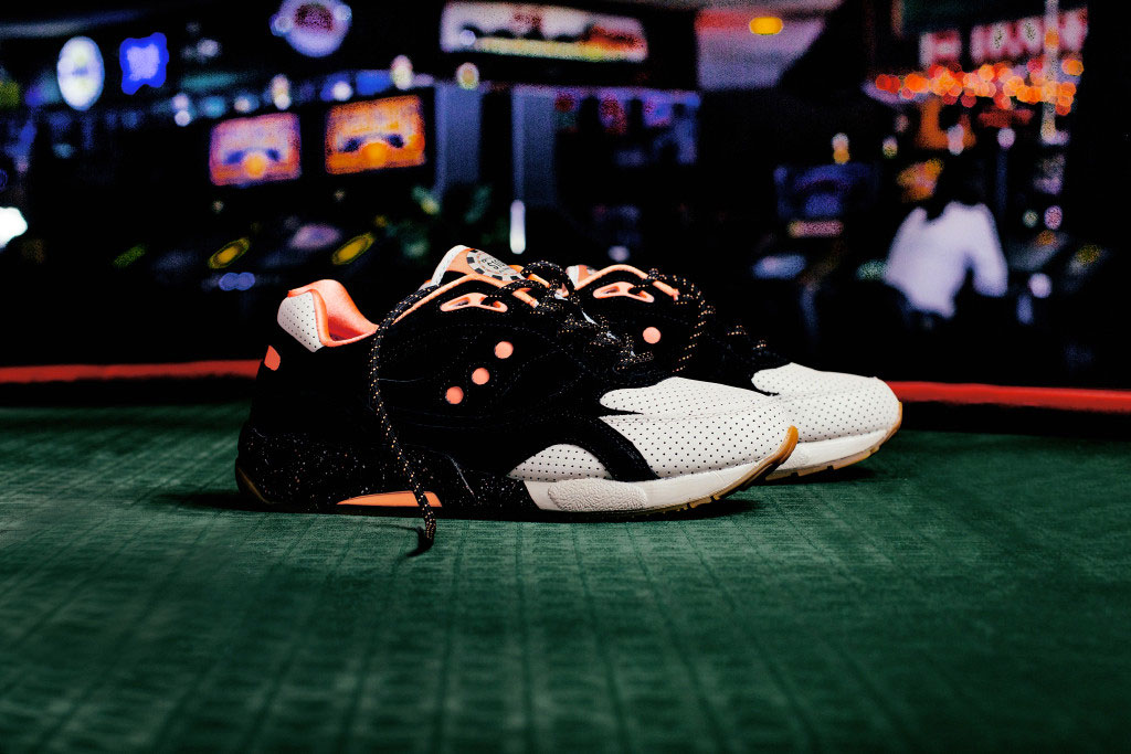Saucony x Feature G9 Shadow 6 'High Roller'