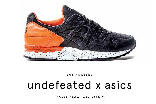Undefeated x ASICS Gel Lyte V (5) 'False Flag'-1