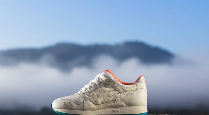 ASICS Gel Lyte III (White/Orange/Turquoise)