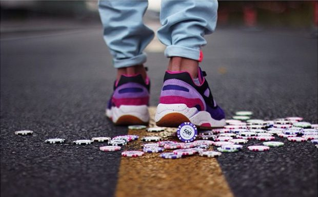 Feature x Saucony G9 Shadow 6 'The Barney'-4