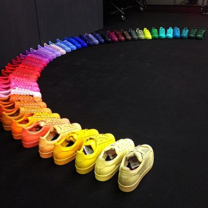 Pharrell x adidas Originals Superstar Rainbow