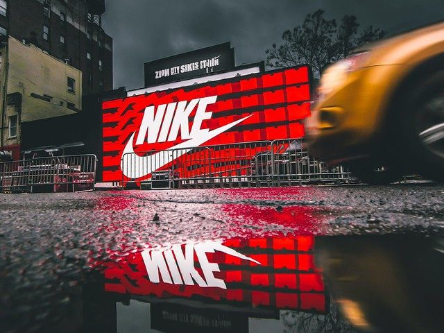 Nike magasin boite à chaussures store Bowery & Great Jones St.