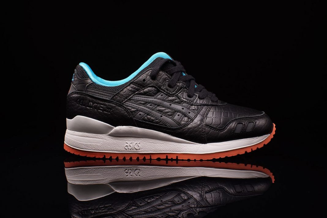ASICS Gel Lyte III 'Miami Vice' Pack (Black/White/Orange/Turquoise)-1