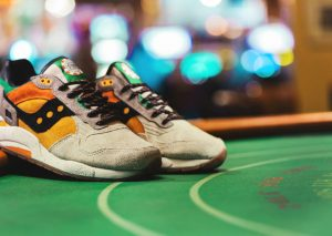 Feature x Saucony G9 Shadow 6 'The Pumpkin'-3
