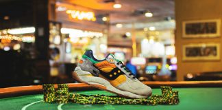 Feature x Saucony G9 Shadow 6 'The Pumpkin'