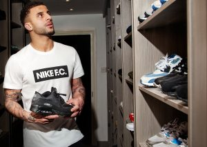 Kyle Walker On Air Max 1-4