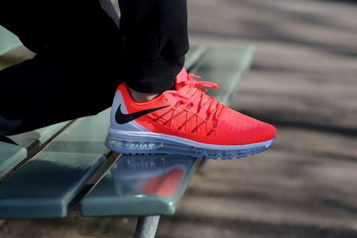 42b250509a3a7 Nike Air Max 2015  Bright Crimson
