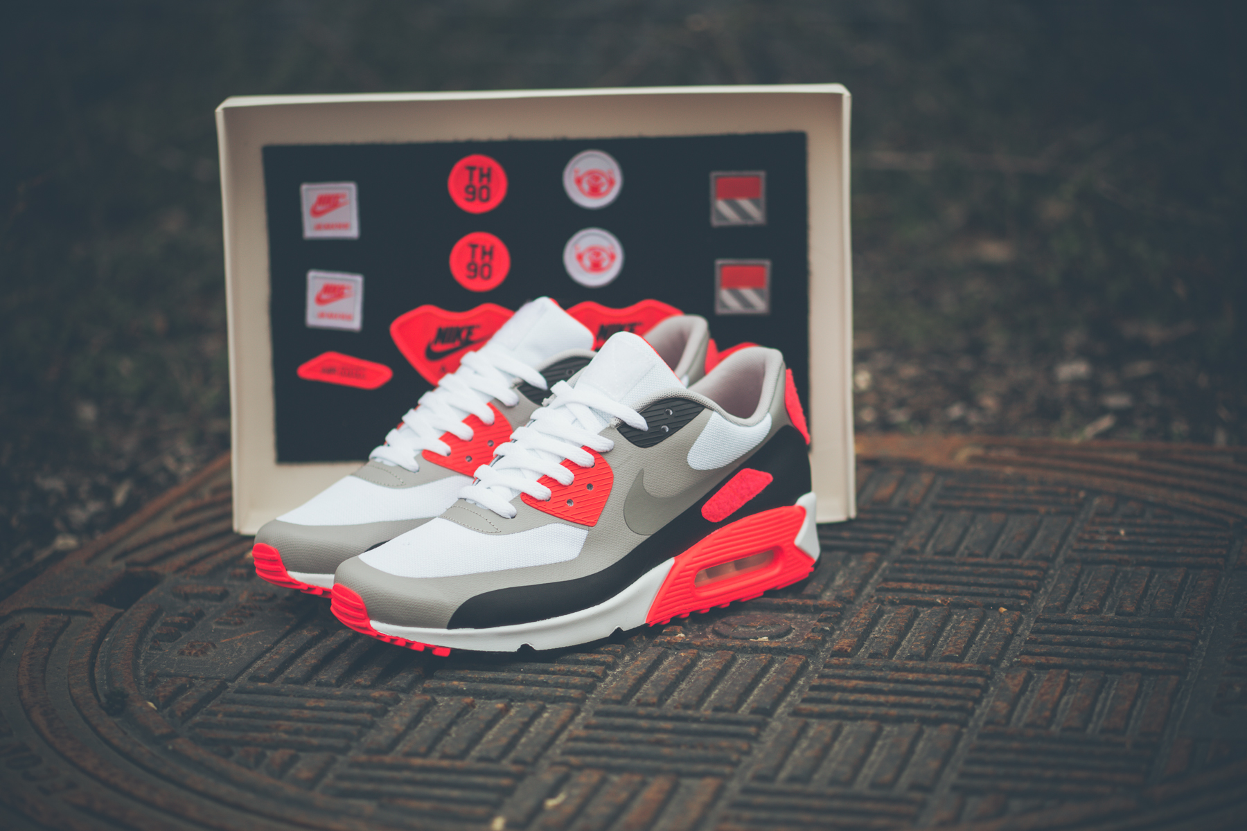 Nike Air Pack Max 90 Infrared 'Patch' Pack Air d0d4d5