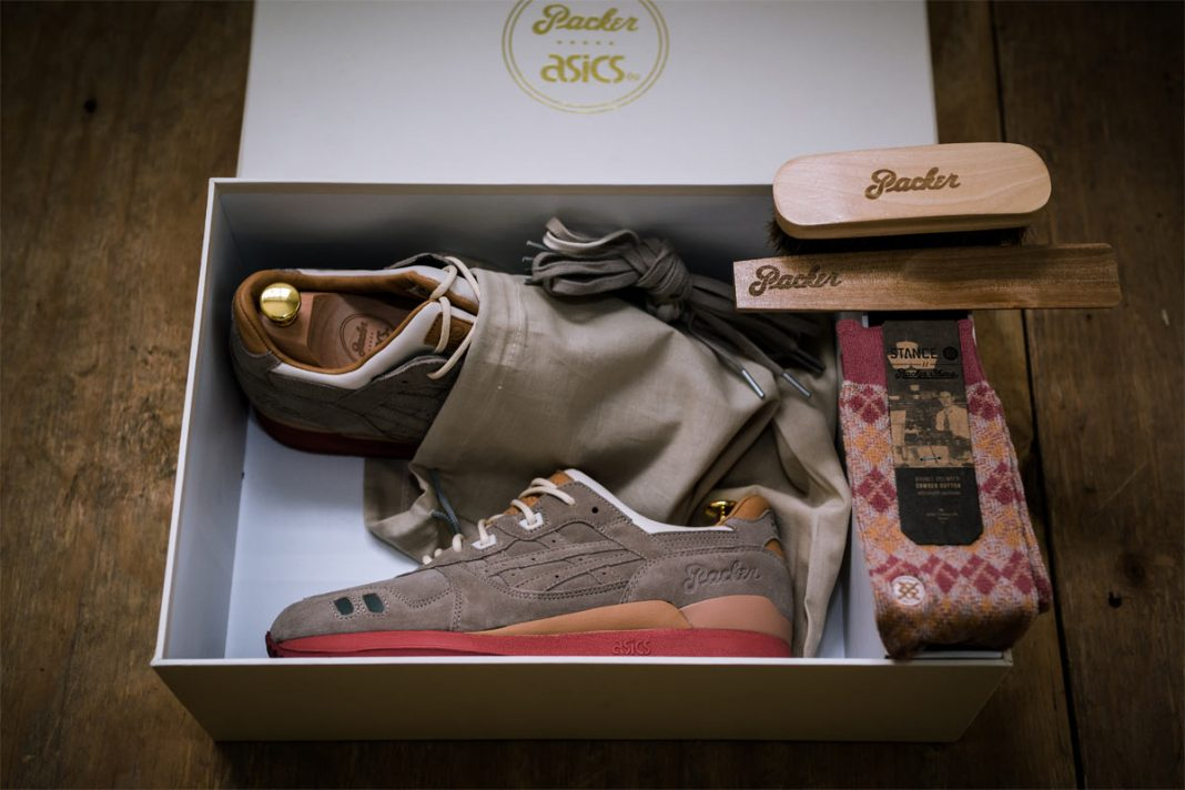 Packer Shoes x Asics Tiger GEL Lyte III - 25th Anniversary