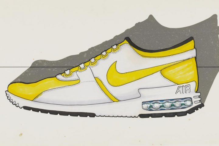 Sketch Nike Air Max Zero Croquis
