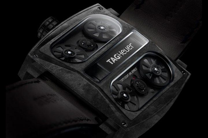 TAG Heuer Monaco V4 'Phantom' Watch