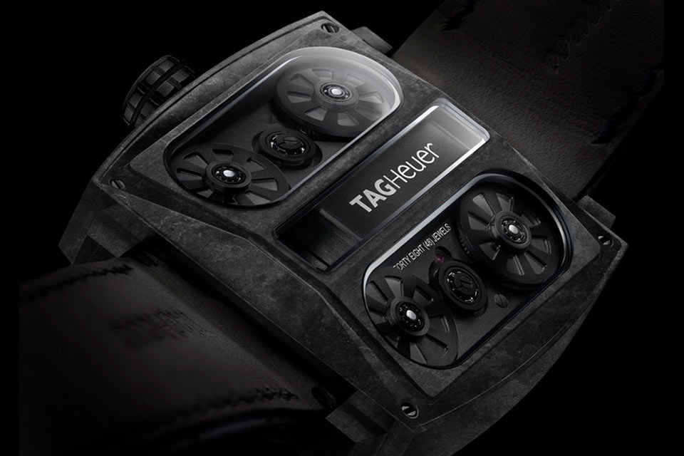 TAG Heuer Monaco V4 'Phantom' Watch