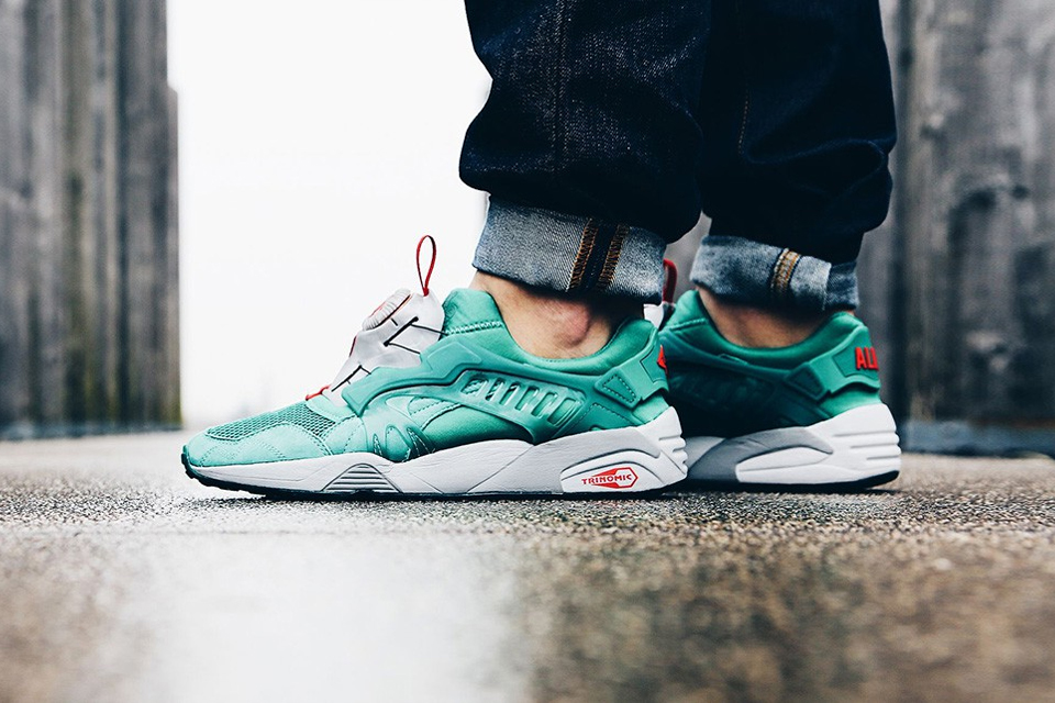 Puma x Alife Trinomic Disc Blaze 'Ultramarine' | On Feet