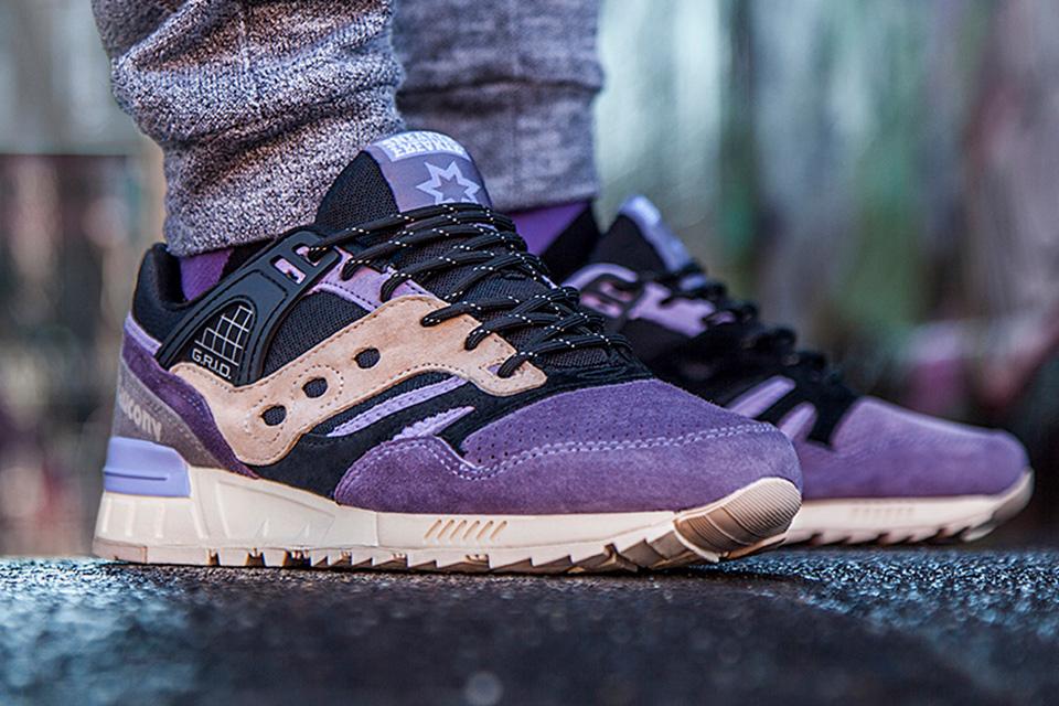 Sneaker Freaker x Saucony Grid SD 'KUSHWHACKER'-2