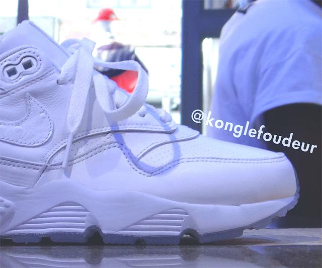 Nike Air Max 1 x Huarache Blanc \u0027HYBRID\u0027 Custom par