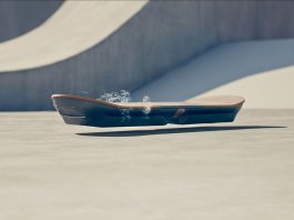 Lexus hoverboard video