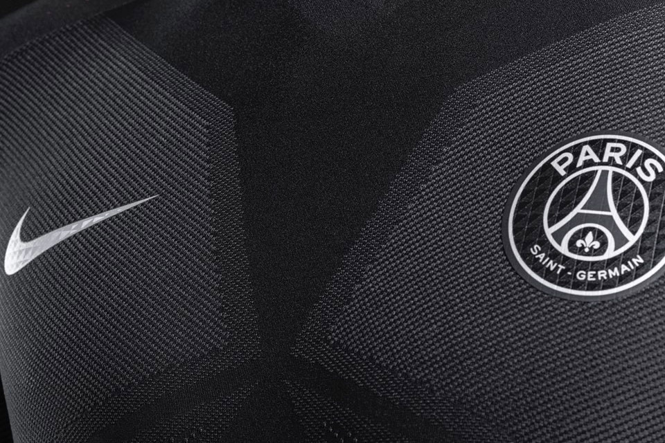 Maillot PSG Nike 'Dark Light' 2015/2016 (Noir/Rose)-3