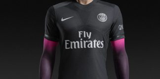 Maillot PSG Nike 'Dark Light' 2015/2016 (Noir/Rose)