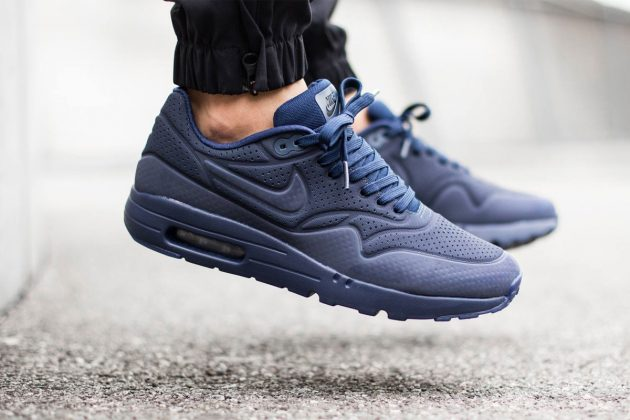 Nike Air Max 1 Ultra Moire Midnight Navy/Midnight Navy/Black 2015