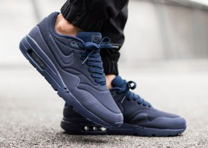 Nike Air Max 1 Ultra Moire Midnight Navy/Black