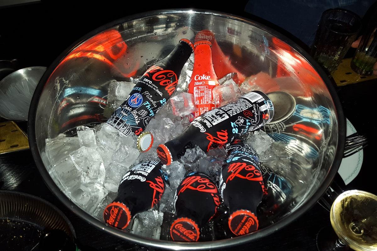 Bouteille Coca-Cola x PSG Soiree de lancement-1