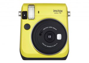Fujifilm Instax mini 70-Jaune Yellow-Polaroid