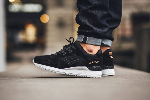 ASICS Gel-Lyte III 'Rose Gold' Pack Black/Noir