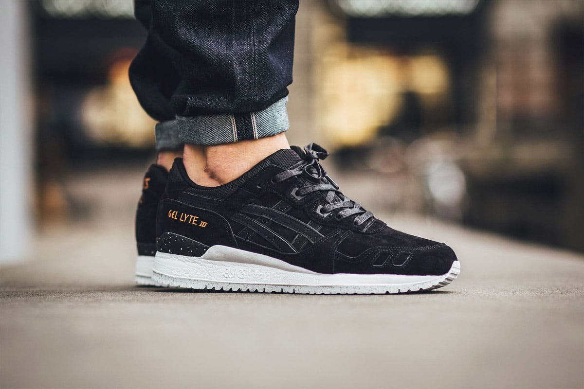 Asics Gel Lyte Iii Shoes Rose Gold Pack Black Black